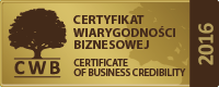 Certificate of Business Credibility (CWB)