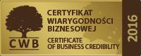 Certyfikat Wiarygodności Biznesowej (CWB)