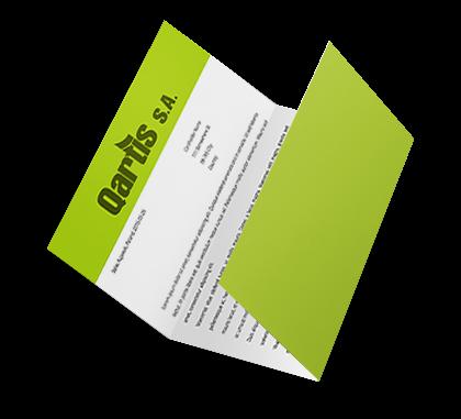 letter folding, direct mailing