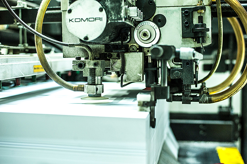 KOMORI Lithron printing machine