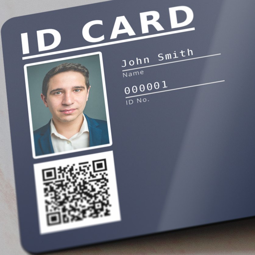 thermal transfer personalization on a plastic card