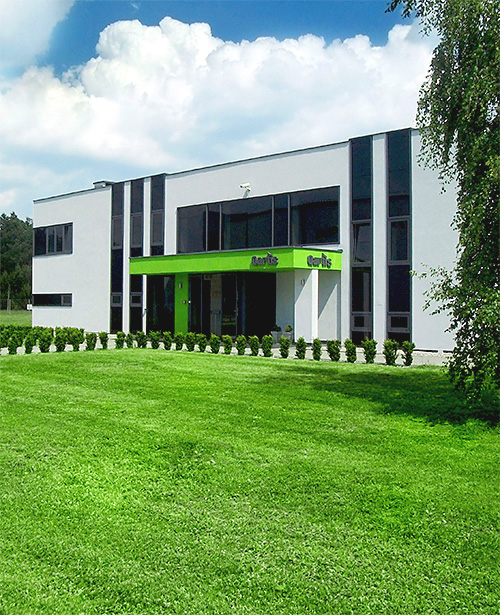 QARTIS Headquarters building in Solec Kujawski, Poland