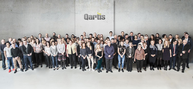 Załoga Qartis S.A.- 2016