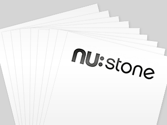 NuStone paper sheets