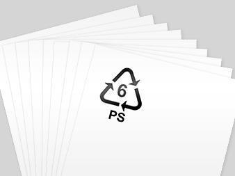 polystyryne sheets