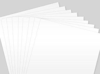 white PVC sheets
