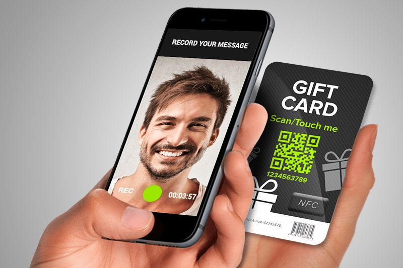 Video Gift Cards (powered by LivStick)